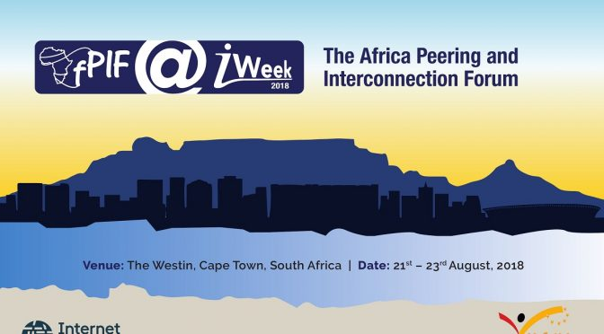 Welcome to AfPIF and iWeek 2018!